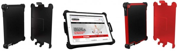 Foto 0 en  - Ballistic Tough Jacket, una funda ultra resistente para iPad 2