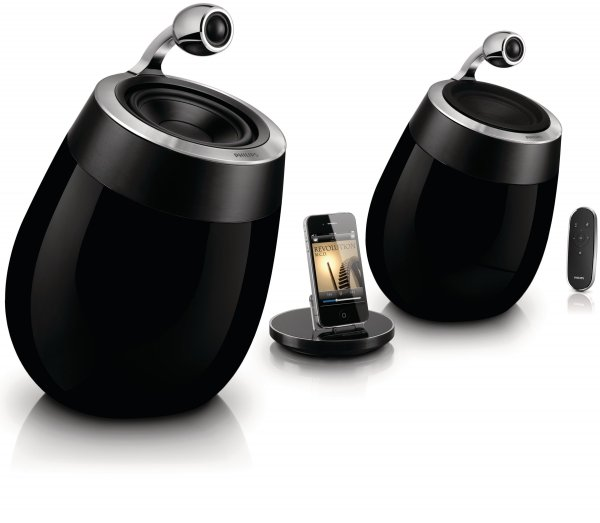Foto 0 en  - Altavoces Philips Fidelio SoundSphere con AirPlay