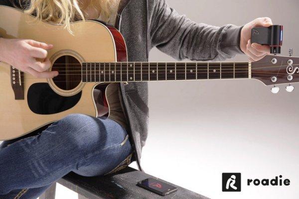 Foto 0 en  - Roadie Tuner, el afinador de guitarras que se conecta a tu iPhone
