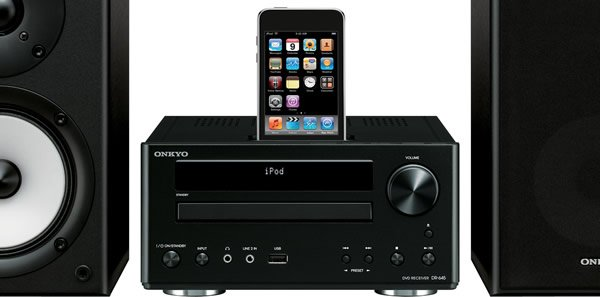 Foto 0 en  - Nuevos sistemas de altavoces para iPod y iPhone de Onkyo