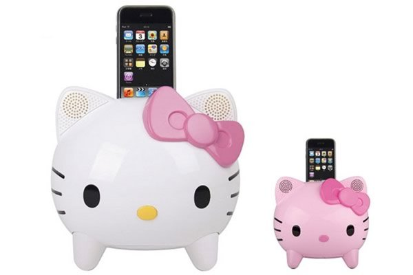 Foto 0 en  - Dock para iPod de Hello Kitty