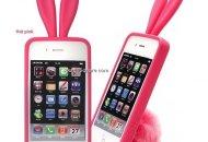 Una funda con orejas y colita de conejo para tu iPhone en esta pascua