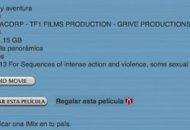 Películas en alta definición a la venta en iTunes y Apple TV