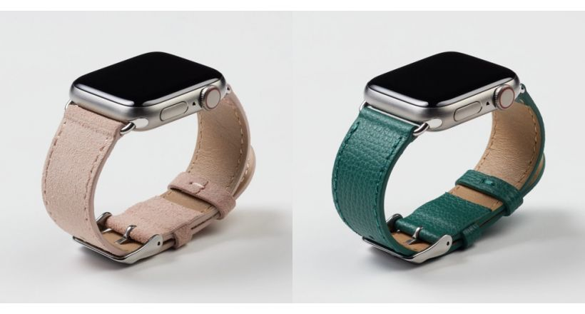 New collection of bands for the Apple Watch Pin & Buckle