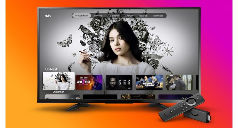 The Apple TV is now available for Amazon Fire TV Sticks