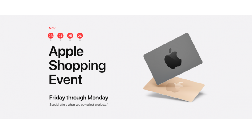 These are Apple promotions for this Black Friday