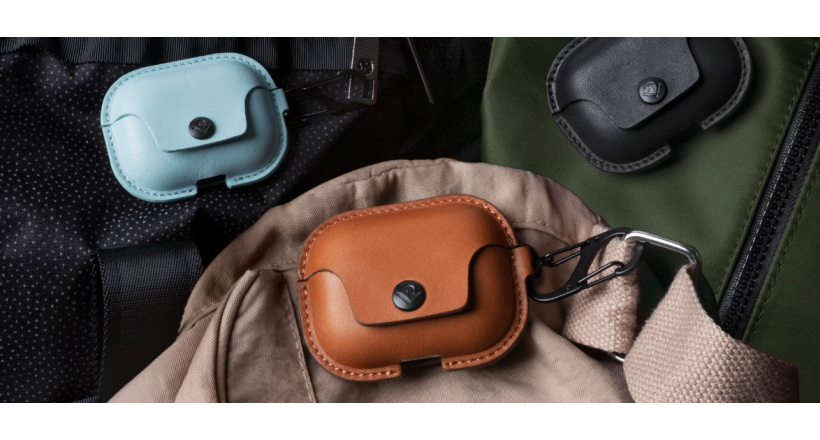 Twelve South presents its case of leather AirSnap for AirPods Pro