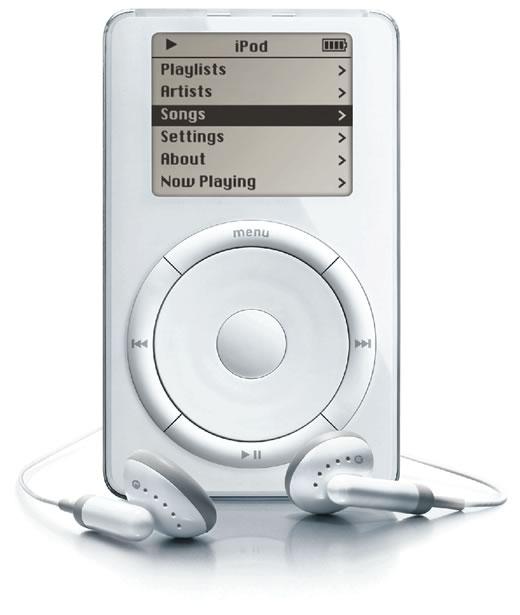 Resultado de imagen para iPod 1g