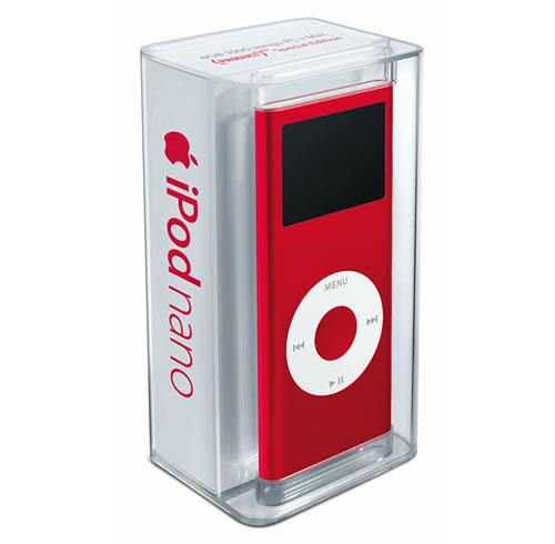 iPod nano (PRODUCT)RED Special Edition