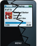 pantallas de los iPod nano