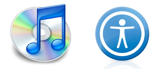 Apple hará a iTunes totalmente accesible para ciegos