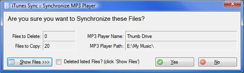 Sincroniza tu reproductor de MP3 con iTunes