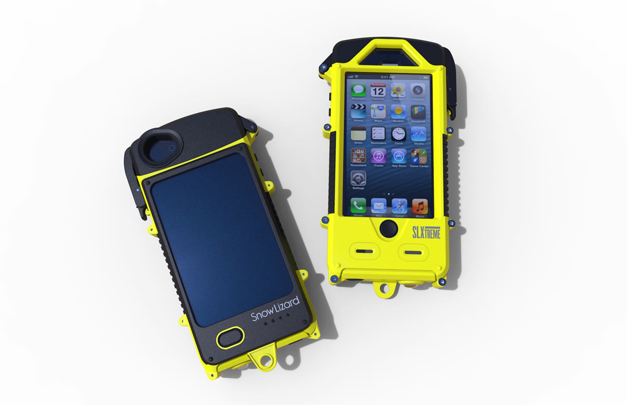 La funda slxtreme para iphone 5 y 5s tiene bater a panel solar y es resistente al agua ipodtotal - Funda bateria iphone 5c ...