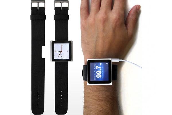 Ilovehandles Lanza Correas Para Usar El Ipod Nano 6g Como Reloj Ipodtotal
