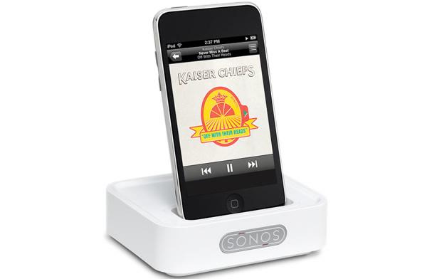 sonos lanza un dock inal mbrico para ipod y iphone ipodtotal. Black Bedroom Furniture Sets. Home Design Ideas