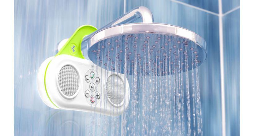 El altavoz gator sound de pyle audio te permite escuchar m sica en la ducha ipodtotal - Canciones para la ducha ...