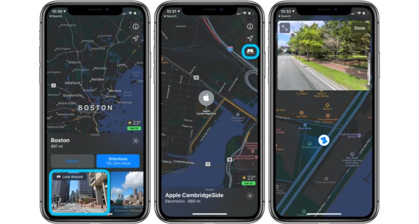 Apple espande la visione in 3D per Boston, Philadelphia e Washington, D. C.