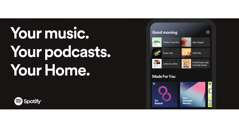 Spotify updated its applications for mobile phones and tablets Apple