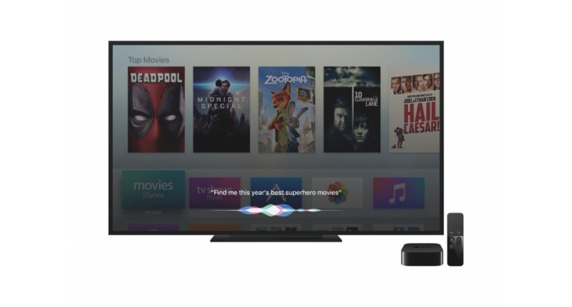 Apple preenta its new TV application for the Apple TV, iPhone and iPad