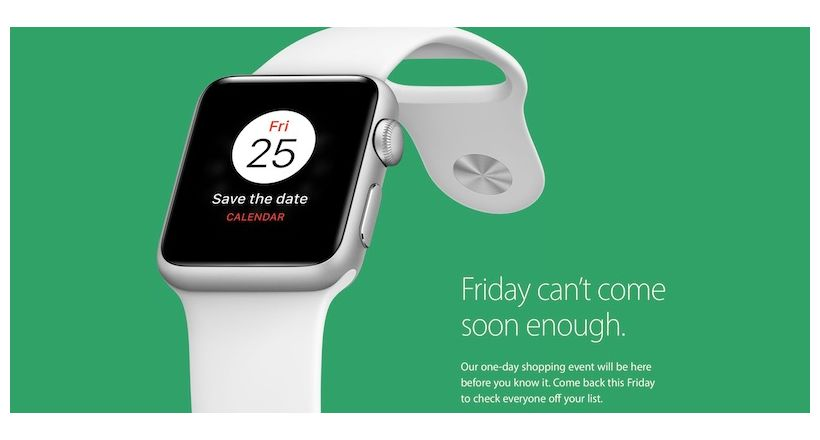 Apple jokes with discounts during Black Friday