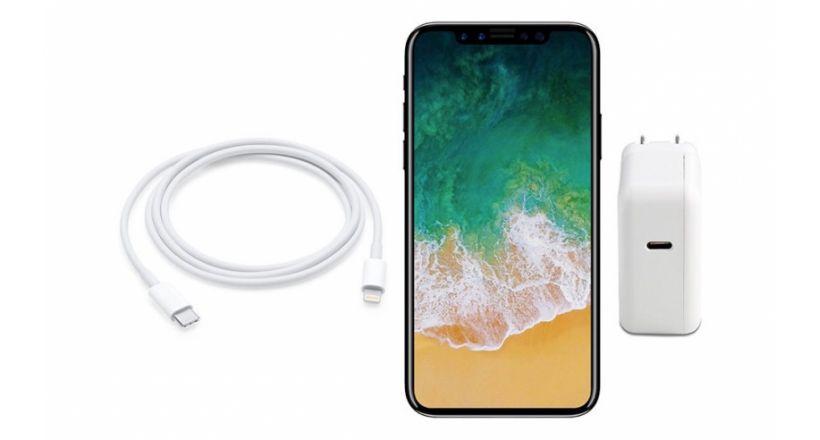 Espera-Se que o novo iPhone 8 inclui um carregador mais rápido de 10W USB-C