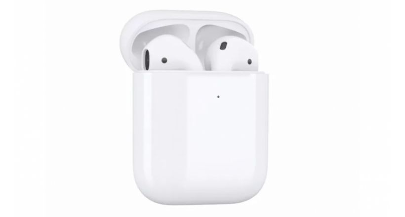 AirPods Case of second generation with support for charging wireless
