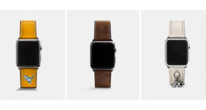 New bands Coach for the Apple Watch to the year-end holidays