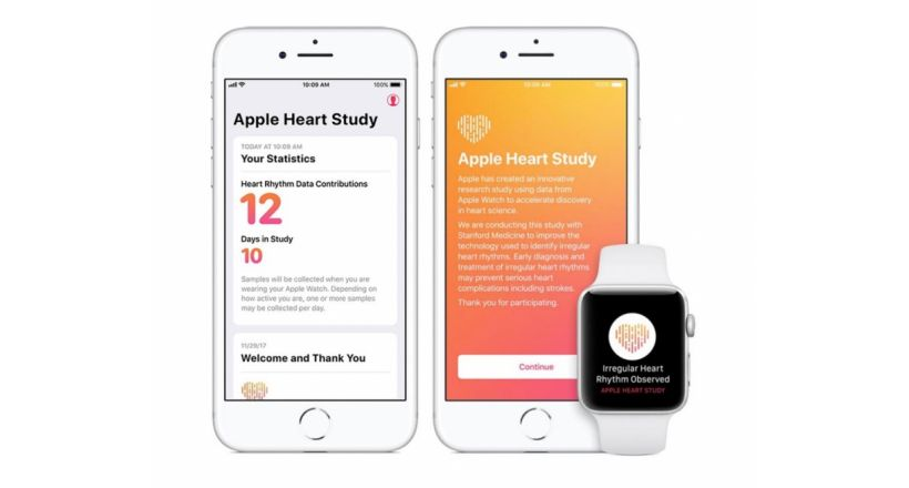 The holders of Apple Watch can participate in a new medical study
