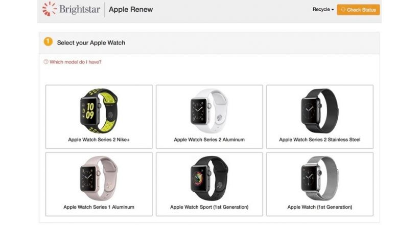Apple introduces a new recycling program for Apple Watch with gift cards