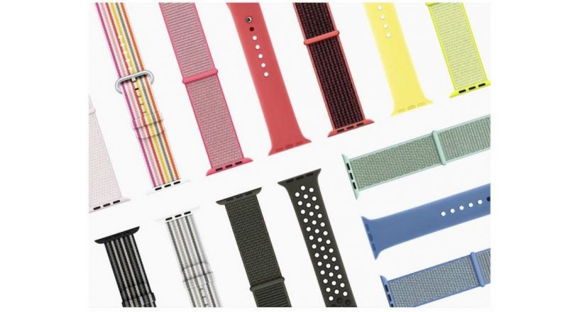 New spring collection of bands for the Apple Watch