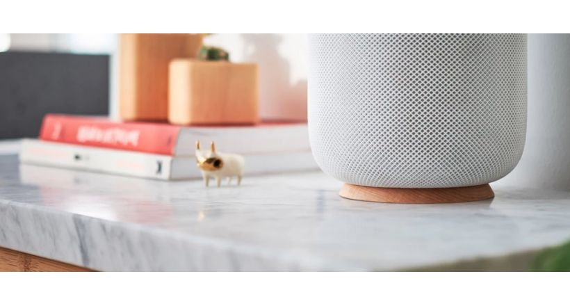 Grovemade offers a walk to the HomePod, which prevents the white ring on the wood