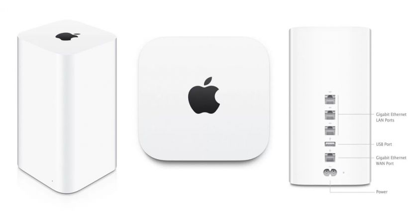 Apple dashed its product line to AirPort