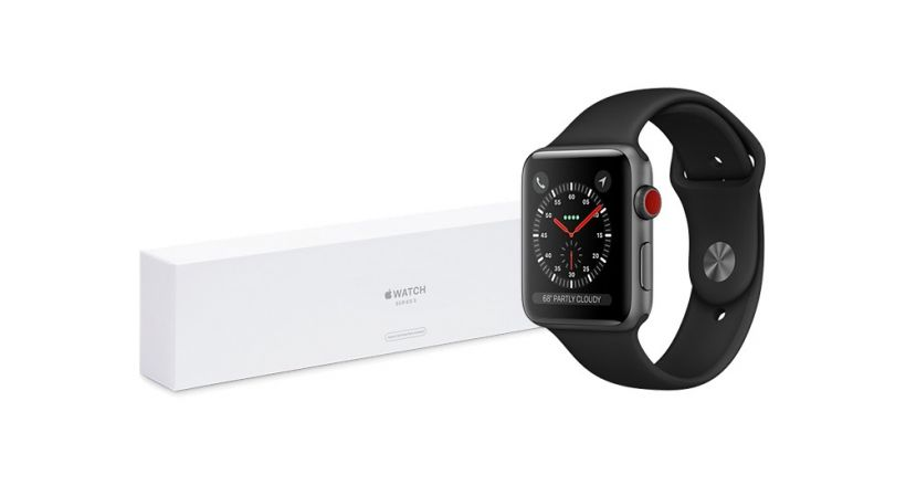 Apple begins selling the Apple Watch Series 3 with LTE Refurbished