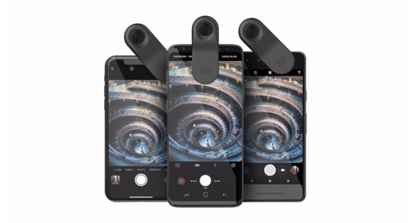 "Olloclip announces its lens mounting ""Multi-Device Clip"" compatible with iPhone X"