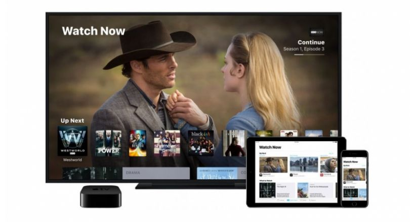 The service Apple TV would be launched in 100 countries by 2019, beginning with the united States