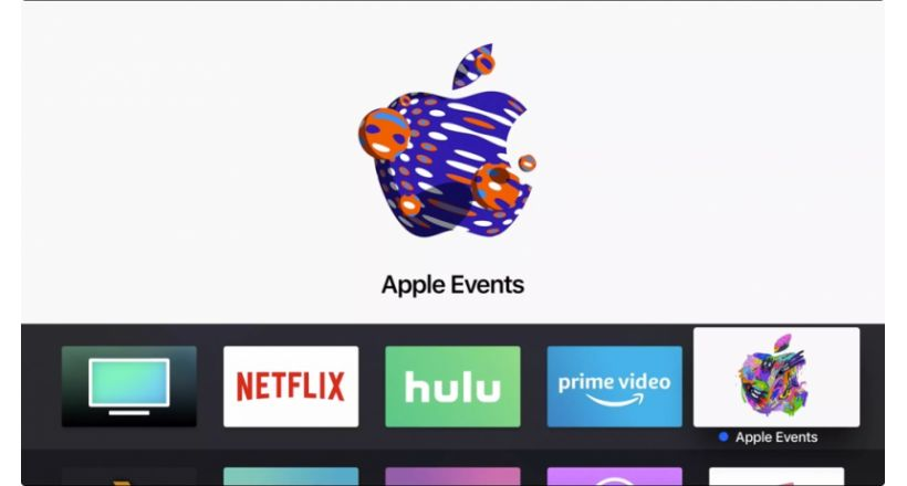 The application Apple Events is updated prior to October 30,