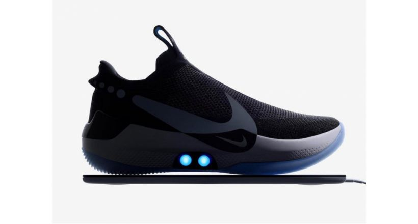 Nike launched their shoes for basketball that are adjusted automatically with iPhone control