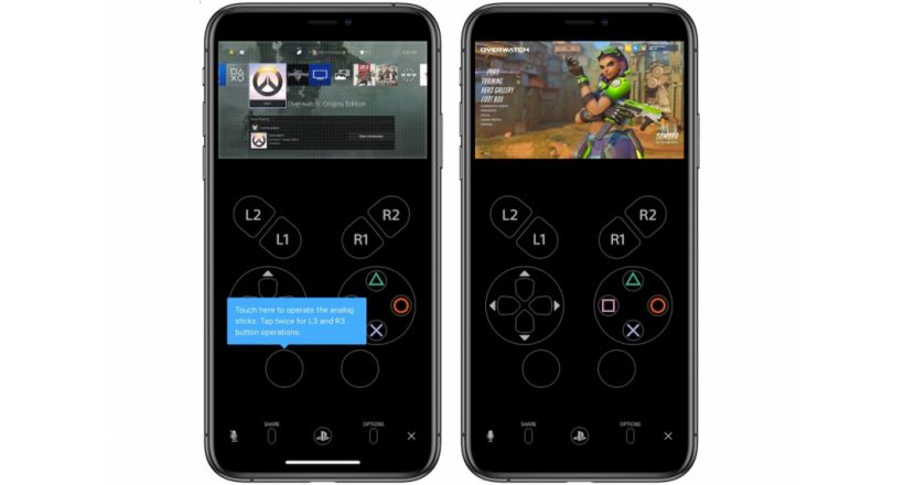 Sony releases the Remote Play to control PS4 using iPhone or iPad