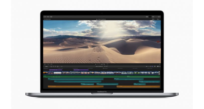 Apple presents its MacBook Pro with 8 cores
