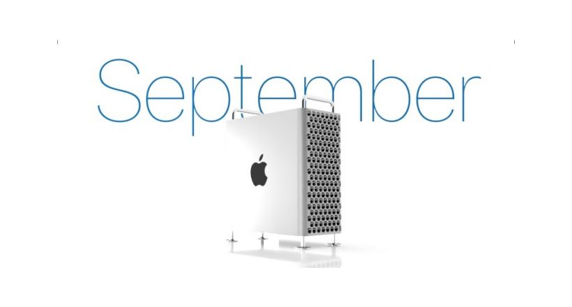 Apple reports that the new Mac Pro and Pro Display XDR will be available in September