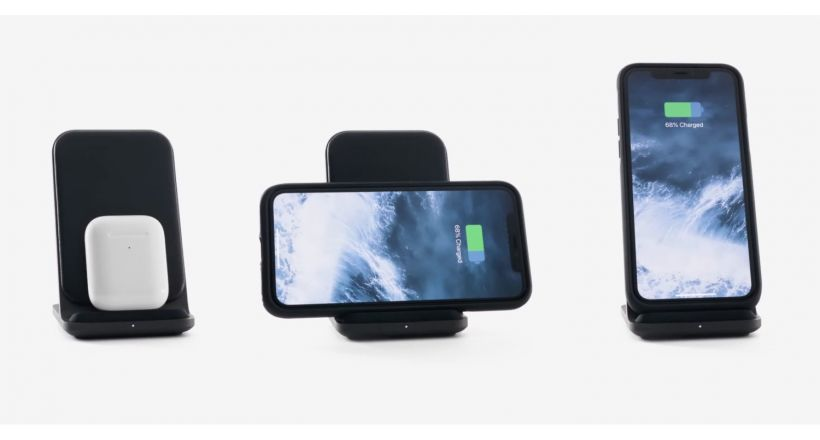 Nomad presents its charging dock Base Station Stand with support for AirPods