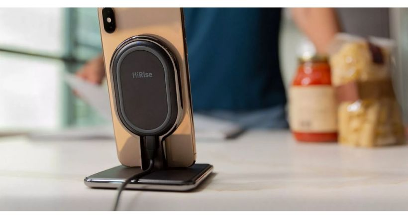TwelveSouth launches its stand HiRise Wireless to charge iPhone and AirPods