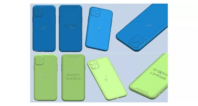 Possible renderings CAD iPhone 2019 show the bump of the camera