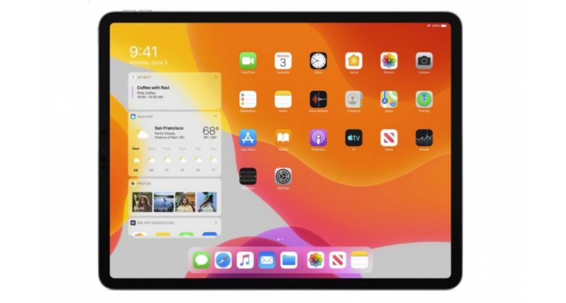 Is now available iPadOS with several new features