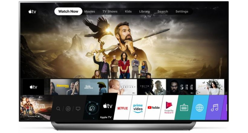 The App of Apple TV now available on TVs LG 2019 selected