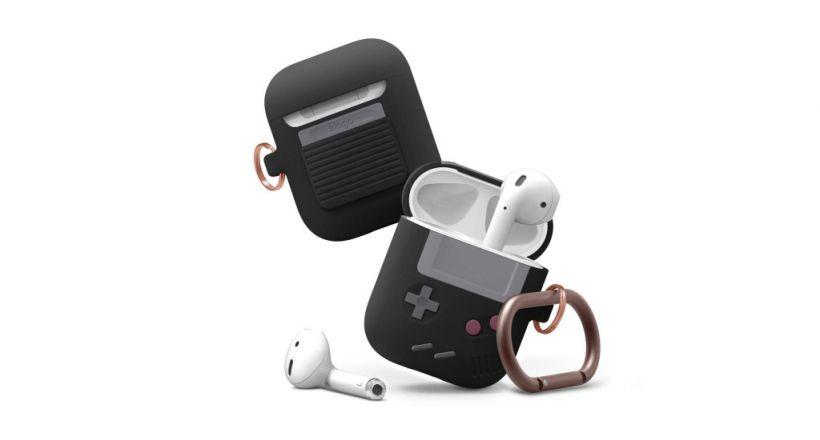 elago presenta il suo caso per AirPods con stile Game Boy