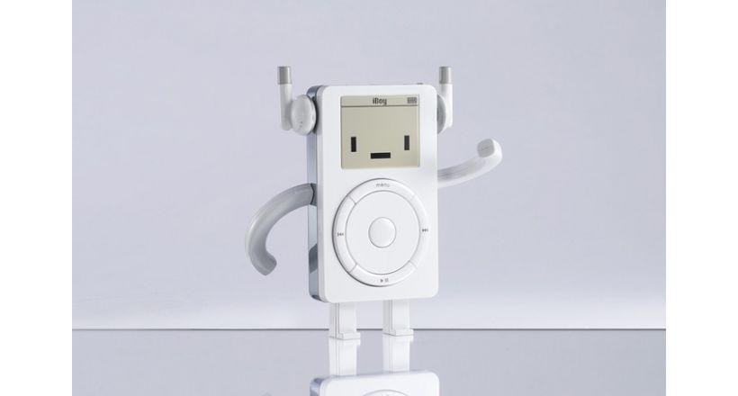 Classicbot präsentiert das neue spielzeug iBoy erinnert an iPod retro