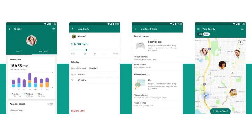 Ein preview von Microsoft Family Safety ist bereits verfügbar, für iOS-nutzer