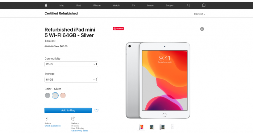 Apple begins selling iPad Air 2019 and iPad Mini 5 refurbished