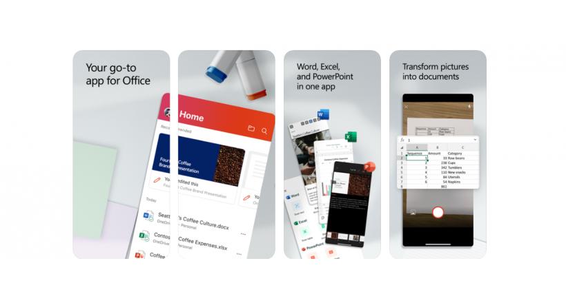 Die Microsoft-Office-anwendung für das iPhone ist bereits fertig